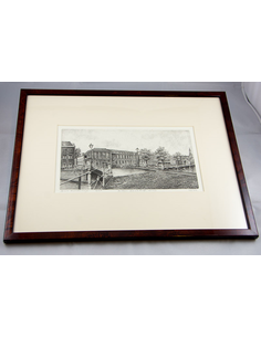Original etching Law Faculty