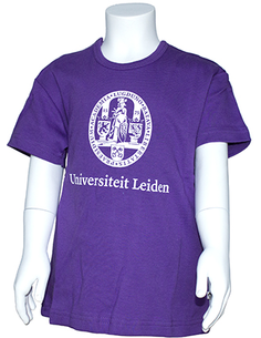 Children's t-shirt purple 110/116