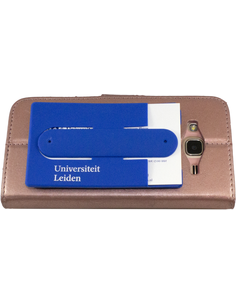Smartphone credit card holder